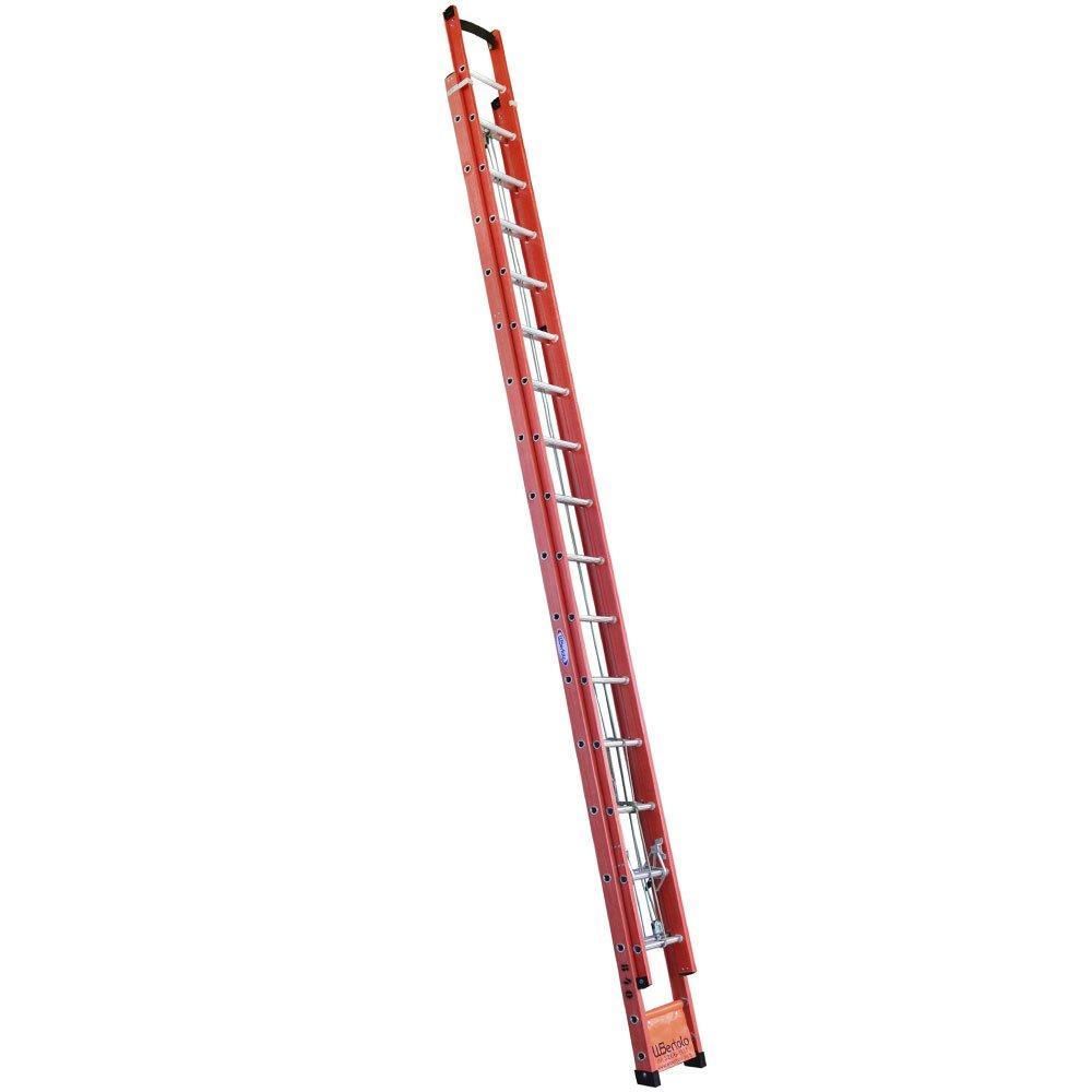 Escada Extensível Vazada em Fibra de Vidro 27 Degraus 4,80 x 8,40M