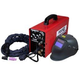 Kit Máquina de Solda Multifuncional FORTGPRO-FG4313 200A Bivolt + Máscara para Solda com Sensor de Escurecimento