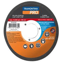 Disco de Corte Ultrafino para Aço Inox 4.1/2 Pol.