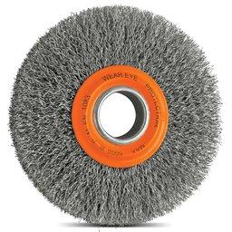 Escova Circular Arame Ondulado Aço 6 x 1/2 Pol.
