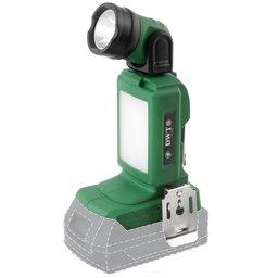 Lanterna de LED Sbat Scar 18V com 5 Estágios de Luz sem Bateria e Carregador