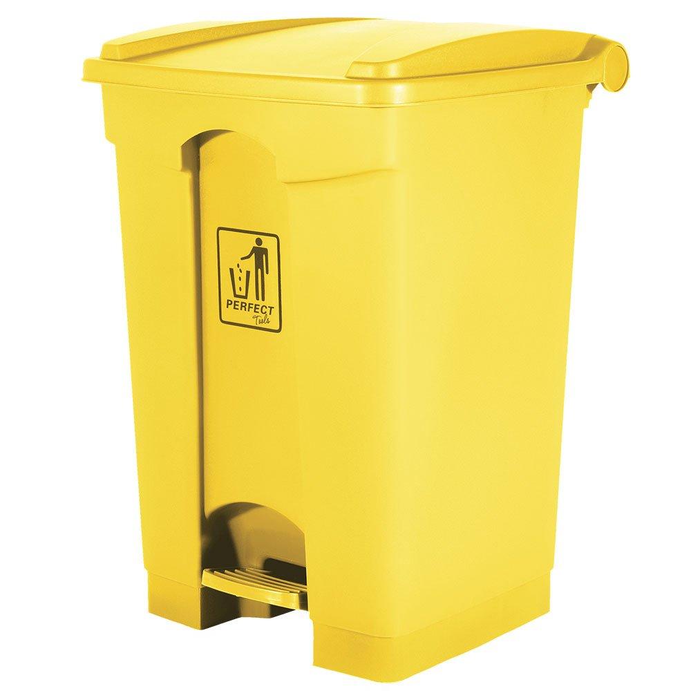 Lixeira 50 Litros Amarela
