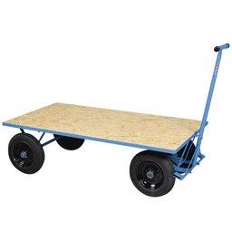 Carro Plataforma de Madeira 400kg