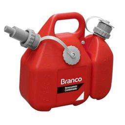 Reservatório Combinado para Gasolina e Óleo para Misturador de Combustível para Motores 2 Tempos