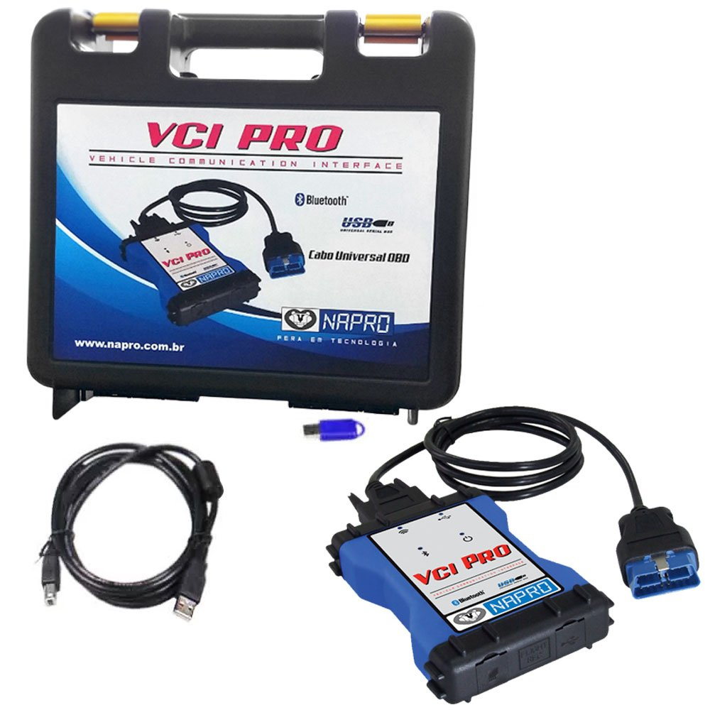 Scanner Automotivo PC-SCAN3000 VCI PRO