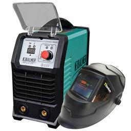 Kit Máquina Inversora de Solda TIG BALMER 30179537 Joy 223 DV + Máscara de Solda Automática TITANIUM 5242