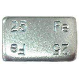 Contrapeso Adesivo de Aço Linha Pesada 25g com 25 Unidades