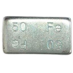 Contrapeso Adesivo de Aço Linha Pesada 50g com 25 Unidades