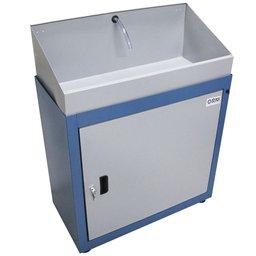 Lavadora de Peças Fechada Azul com Eletrobomba 35W 220V 20 Litros