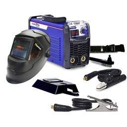 Kit Máquina Inversora de Solda Boxer 1005021 Tig Flama 201BV 200A + Máscara de Solda Titanium 5242