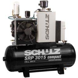 Compressor de Ar de Parafuso SRP 3015 Compact 7,5 Bar 59 Pcm 183 Litros 380V