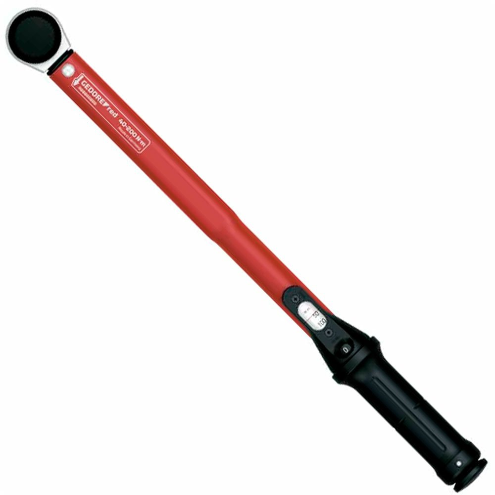 Torquímetro Estalo Ajustável Encaixe 1/2 Pol. 40-200 N.m