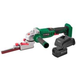 Kit Lixadeira de Cinta DWT-6014181200 18V + Bateria DWT-6014180400 + Carregador DWT-6014180500