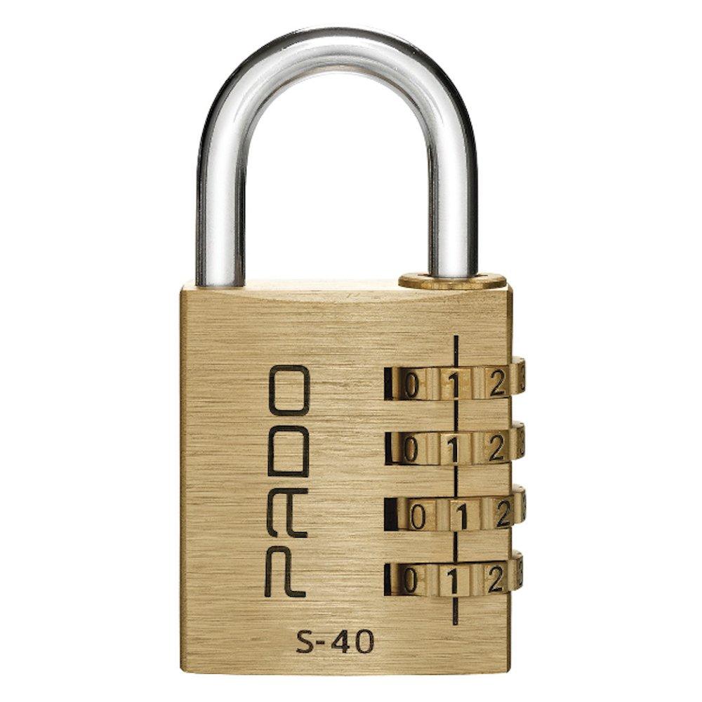Cadeado Segredo S-40 4 Dígitos em Latão