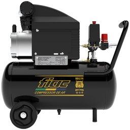 Motocompressor de Ar Bulldog 1,5CV 8,2 Pés 24 Litros