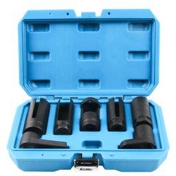 Jogo de Soquetes para Sensor de Oxigênio/ Sonda Lambda com 7 Peças