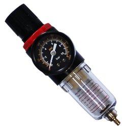 Filtro e Regulador de Pressão 1/4 Pol.