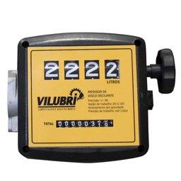 Medidor Mecânico 20 - 120 l/min com 4 Dígitos para Óleo Diesel