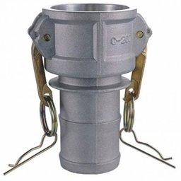 Acoplador Camlock Alumínio Tipo C 6 x 6 Pol.