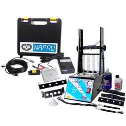 Kit Máquina de Limpeza KITEST KA-200 Teste de Injetores/ Injeção Direta GDI + Scanner Automotivo NAPRO 10101179/USB PC-SCAN3000