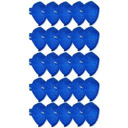 Kit 25 Máscaras Respiratórias Semifacial N95 Antiviral PFF2 sem Válvula