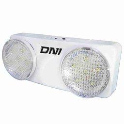 Bloco de Iluminação de Emergência Direcionável 6W Bivolt