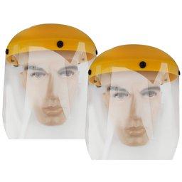 Kit 2 Protetores Facial Hospitalar 8 Pol. com Carneira UMP-10893