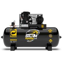 Compressor de Ar Storm 450 Monofásico 15 Pés 175 Litros 110/220V