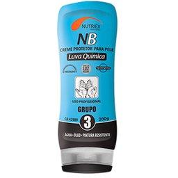 Creme Protetor para Pele Luva Química NB Grupo 3 200g