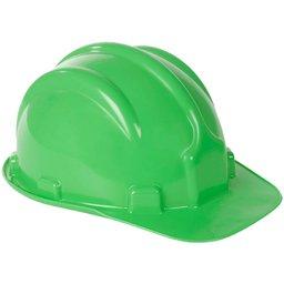 Capacete de Segurança PLT Verde Claro com Aba Frontal