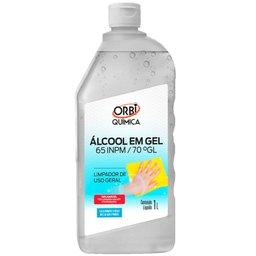 Álcool em Gel 70% 1 Litro