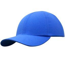 Boné de Segurança Azul com Casquete