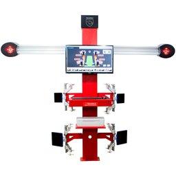 Alinhador Digital 3D com 4 Alvos e 2 Câmeras Digitais