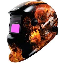Máscara de Solda Automática Exterminador do Futuro com Regulagem 9 a 13