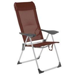 Cadeira Alta Dobrável em Textilene 5 Posições