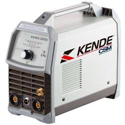 Máquina de Solda Inversora TIG 200A  Monofásico KDWS-200