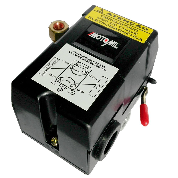 Pressostato Automático 80-120 Libras 4 Vias com Alavanca