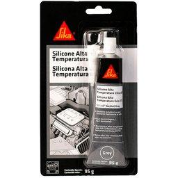 Silicone RTV Alta Temperatura Oxímico para Juntas Cinza 95g