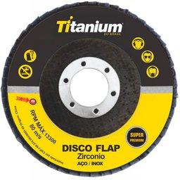 Disco Flap Zircônio 4.1/2 Pol. Grãos 060