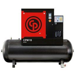 Compressor de Ar Parafuso 15CV 10,8 Bar 47 PCM 265 Litros 220V