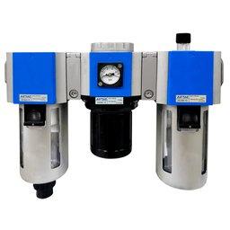 Filtro Regulador e Lubrificador 1/2 Pol.