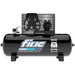 Compressor de Ar 20 Pés 5HP 200 Litros 140 PSI Trifásico 220/380