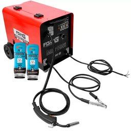 Kit Máquina de Solda FORTGPRO-FG4511 MIG Flex + 2 Cremes Protetor Luva Química NUTRIEX-0063651 200g