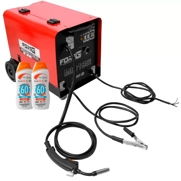 Kit Máquina de Solda FORTGPRO-FG4511 MIG para Arames + 2 Protetores Solar Facial NUTRIEX-61093