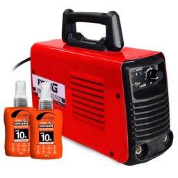 Kit Máquina de Solda FORTGPRO-FG4131 Inversora + 2 Spray Repelente de Insetos NUTRIEX-63503 100ml