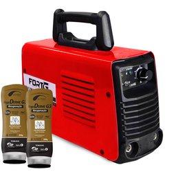 Kit Máquina de Solda FORTGPRO-FG4131 Inversora Multifuncional + 2 Cremes Hidratantes NUTRIEX-62232 200g