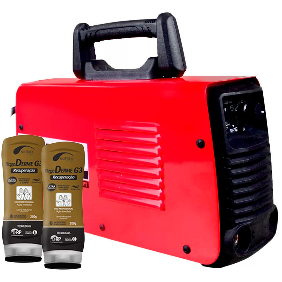Kit Máquina de Solda FORTGPRO-FG4122 Inversora Multifuncional 110/220V + 2 Cremes Hidratantes NUTRIEX-62232 200g