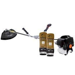 Kit Roçadeira Lateral TERRA-705486B à Gasolina  43CC + 2 Cremes Hidratantes NUTRIEX-62232 200g