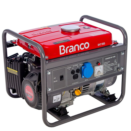 Gerador de Energia à Gasolina 3CV 1.3kva com Partida Manual Monofásico 110V