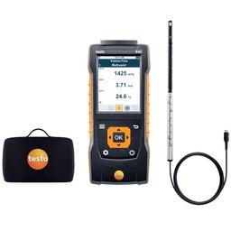 Kit 440 de Medição da Velocidade Fluxo Volumétrico e Temperatura do Ar em Dutos de Ventilação